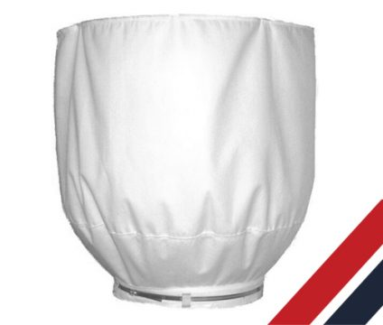 tapered filter bag